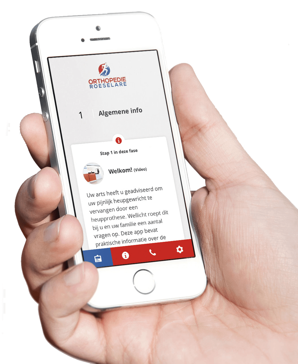 Download gratis de Orthopedie Roeselare app.