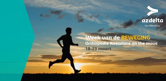 Orthopedie Roeselare on the move - Week van de Beweging