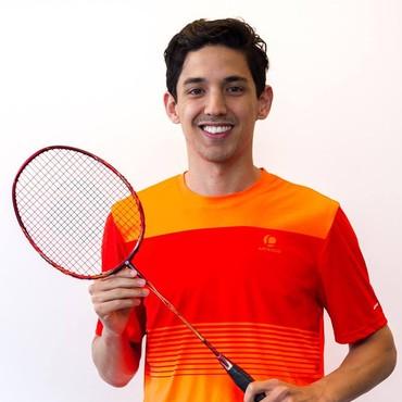 Dr. Yuhan Tan Belgisch kampioen badminton!