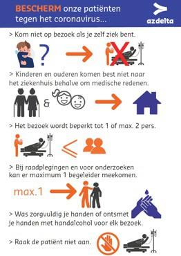 Richtlijnen Coronavirus