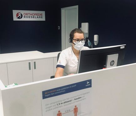 Orthopedie Roeselare start met teleconsultaties